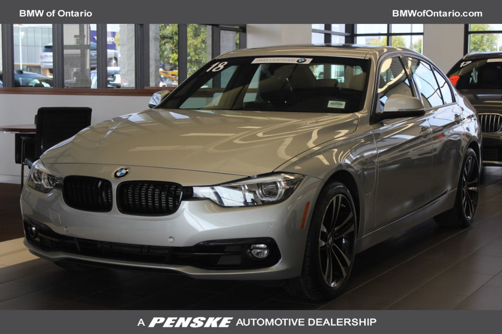 Certified Pre-Owned 2018 BMW 3 Series 330e iPerformance Plug-In Hybrid