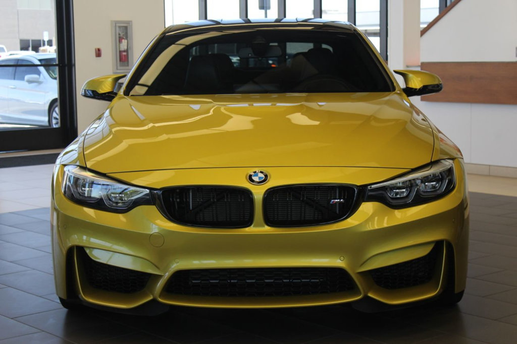 Certified Pre-Owned 2018 BMW M4 2DR CPE